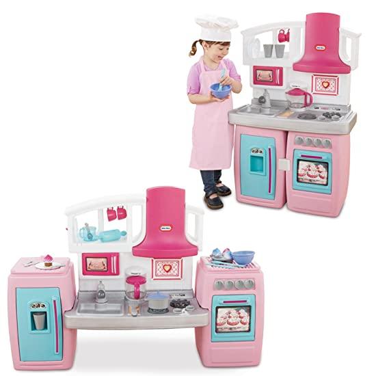 Little Tikes 小泰克 Bake 'n Grow 儿童厨房玩具套装 99.97加元包邮!