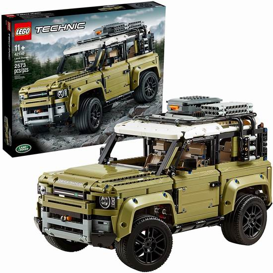 补货!历史最低价!LEGO 乐高 42110 路虎卫士越野车(2573pcs)199.99加元包邮!