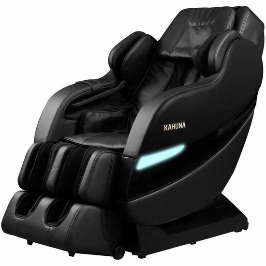 Kahuna SM-7300 SL导轨 超舒适 顶级零重力按摩椅 4072.95加元包邮!