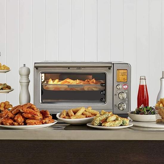 Breville BOV860BSS1BCA1 不锈钢11合一智能对流电焗炉/电烤箱 399.97加元包邮!