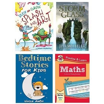 亚马逊提供大量Kindle电子书限时免费!包含儿童读物、动漫书、练习册、成人读物、小说、法语书!手机、平板都能读!