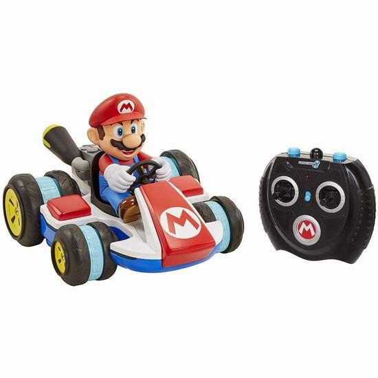 Nintendo 任天堂 02497 马力欧幻轮特技遥控车 41.66加元包邮!