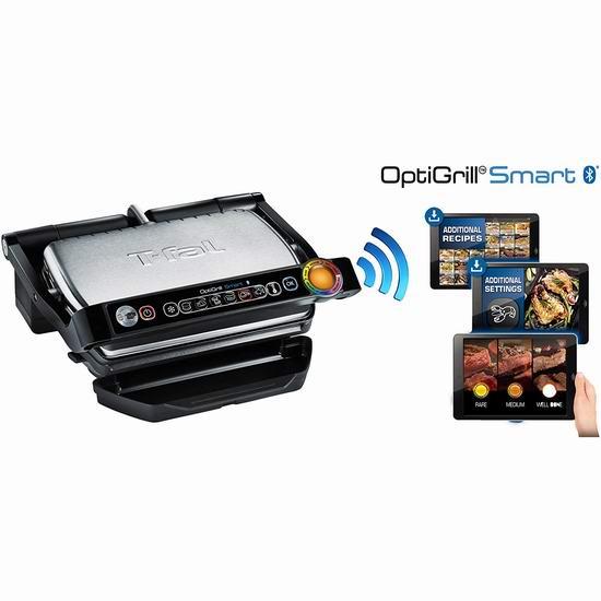 历史最低价!T-fal GC730D53 OptiGrill 智能电烤炉4折 119.99加元包邮!