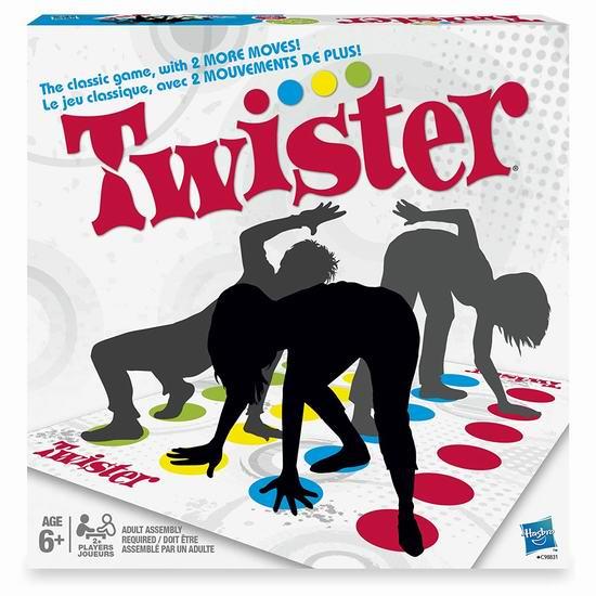 经典聚会游戏!Hasbro 孩之宝 Twister 扭扭乐 19.93加元!支持次日送达!