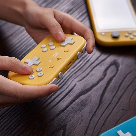 8Bitdo Lite Nintendo Switch专用 蓝牙游戏手柄 29.98加元!兼容Windows系统!