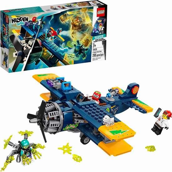 历史最低价!新品 LEGO 乐高 70429 幽灵秘境系列 El Fuego的特技飞机(295pcs) 31.97加元!