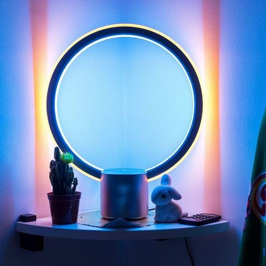 白菜价!C by GE Sol 通用电气 x 亚马逊Alexa 超炫酷 智能台灯2.4折 63.2加元包邮!