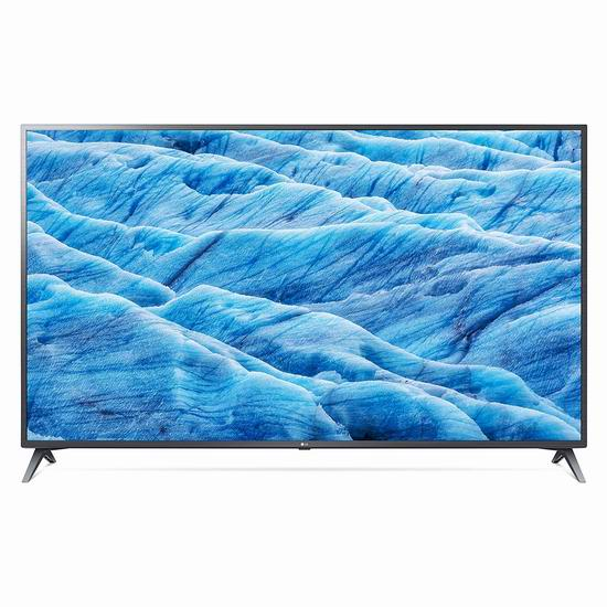 历史新低!LG 70UM7370 70英寸 4K超高清 ThinQ AI 智能电视 999.99加元包邮!