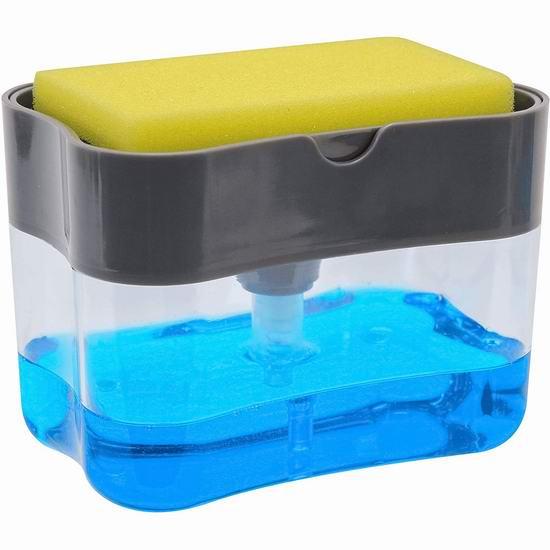 Schroeder & Tremayne 二合一洗洁精/洗碗海绵收纳盒 11.09加元!