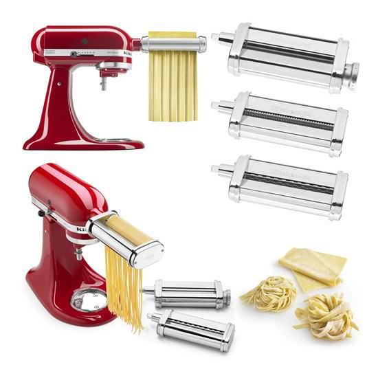 补货!Kitchenaid KSMPRA 厨师机专用 面条/压面切面器配件3件套 188.99加元包邮!