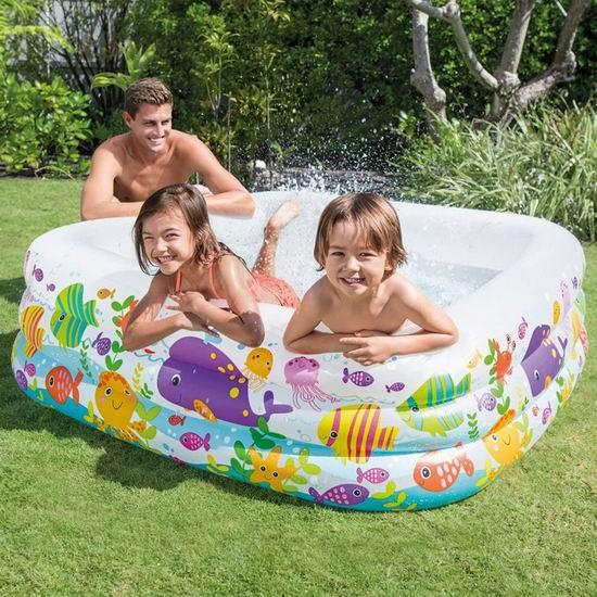 Intex Swim Center 儿童充气戏水游泳池5.8折 42.08加元包邮!