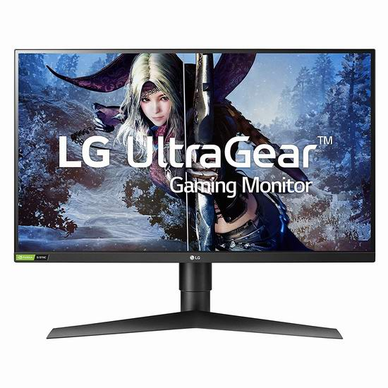 手慢无!LG 27GL83A-B 27英寸 2K IPS 144Hz 电竞显示器 489.8加元包邮!通吃A/N平台!