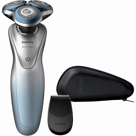 Philips 飞利浦 7000系列 S7910/16 干湿两用 电动剃须刀5.6折 135.99加元包邮!
