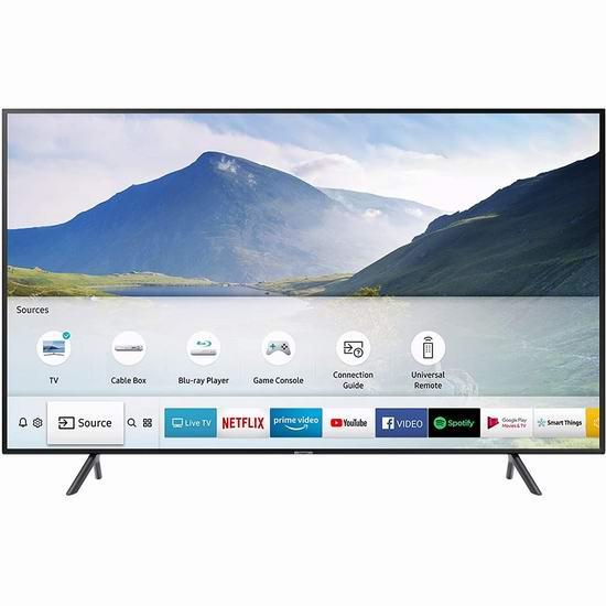 历史最低价!Samsung 三星 49英寸 RU8000 4K智能电视 598加元,原价 799.99加元,包邮