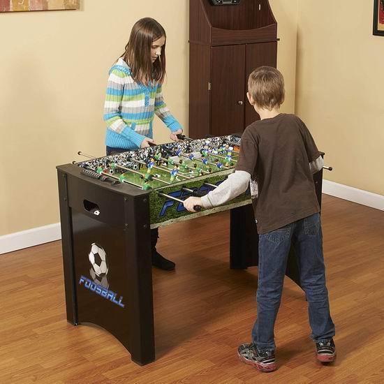 历史最低价!Hathaway Playoff 4英尺 桌式足球游戏桌 163加元包邮!