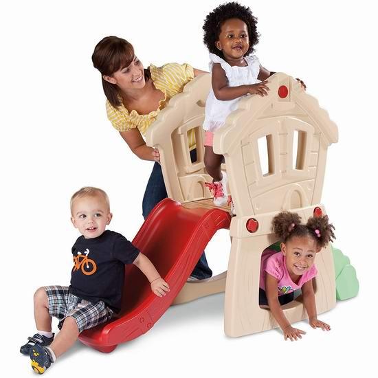 Little Tikes 小泰克 Hide and Seek 儿童滑梯 74.97加元包邮!