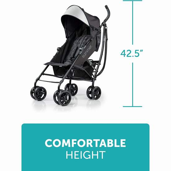 历史最低价!Summer Infant 3D Lite 超轻婴儿推车 89.97加元包邮!