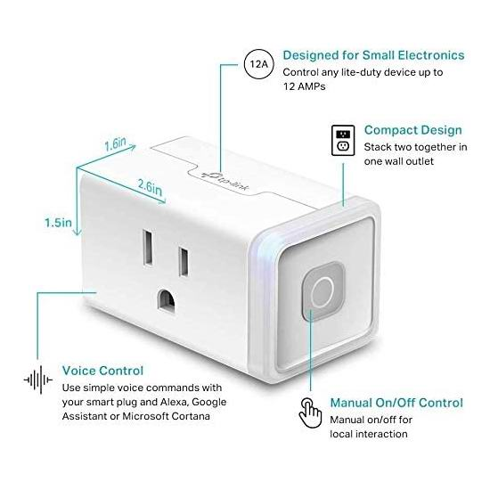 TP-Link HS103 Kasa Smart WiFi 迷你智能插头 10.99加元!