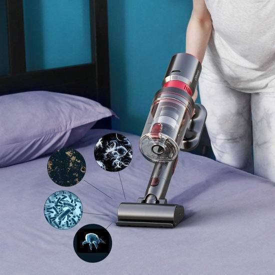 Dibea F20MAX 25KPa 2合1 手持式/直立 强力真空吸尘器 299.99加元限量特卖并包邮!