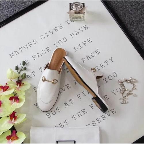 Gucci Princetown 女士拖鞋 白色款 715加元,官网价 865加元