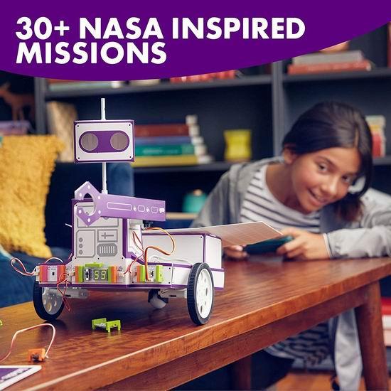 白菜价!littleBits 太空探测机器人 发明家玩具套装1.9折 50.1加元包邮!支持次日送达!