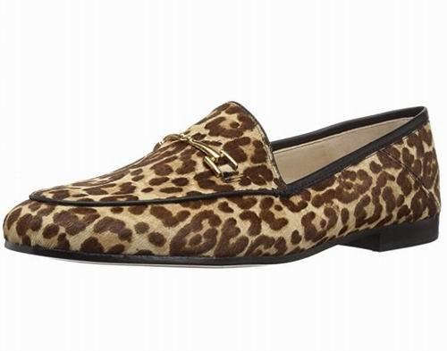 Sam Edelman Loriane女士豹纹乐福鞋 40.09加元(5.5码),原价 119加元,包邮
