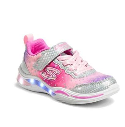 SKECHERS 儿童可视化闪灯鞋 7.5折:闪灯鞋 37.5加元、T恤9.99
