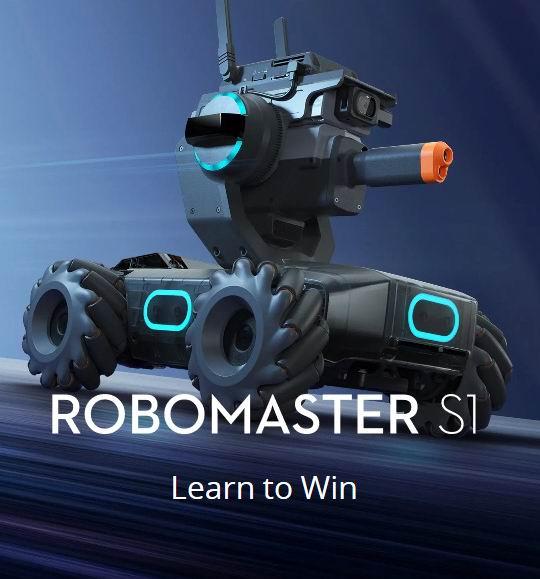 DJI大疆机甲大师RoboMaster S1 教育机器人 599加元,原价 669加元,包邮