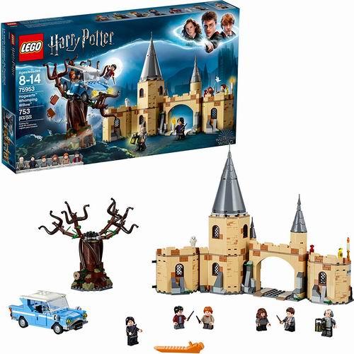 LEGO 乐高 75953 哈利·波特系列 霍格沃茨城门与打人柳(753pcs)7.8折 69.98加元包邮!