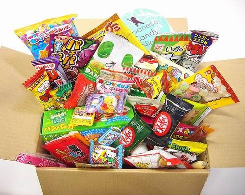 宅在家里,零食吃不停!日本糖果零食 52件套 50加元+包邮!
