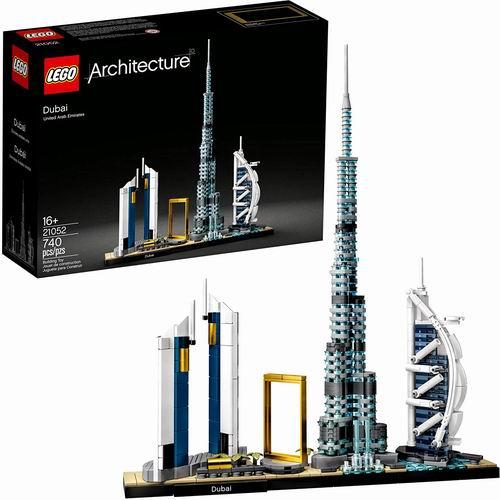 LEGO 乐高 21052建筑系列 迪拜天际线 69.99加元+包邮!