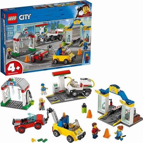 LEGO 乐高 60232 城市系列 汽车服务站 7.5折 59.99加元+包邮!