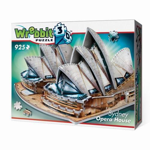 WREBBIT 纸魔世家 悉尼歌剧院 3D 拼图游戏 44.95加元+包邮!