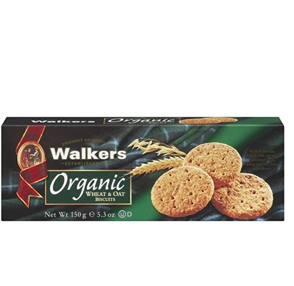 Walkers有机小麦'N'燕麦饼干 6.61加元,原价 9.99加元