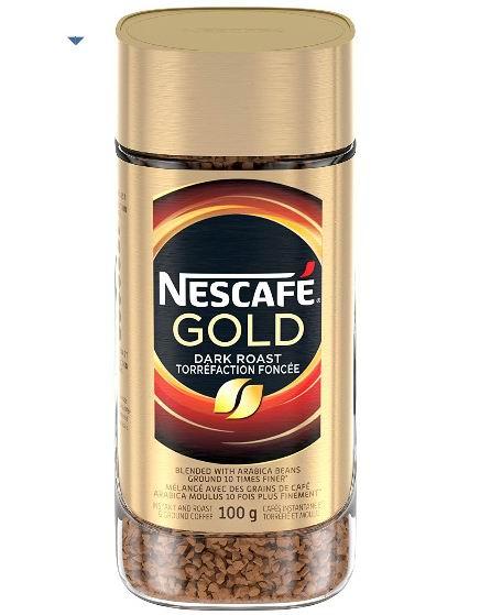NESCAFÉ 雀巢金牌速溶咖啡 4.74加元