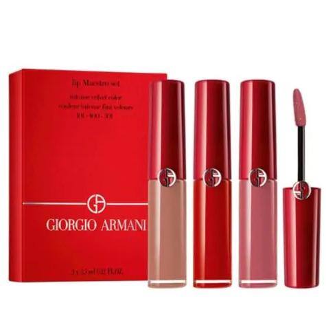 Giorgio Armani  阿玛尼红管唇膏 101+400+501套装 68加元