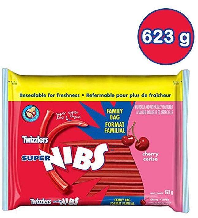 TWIZZLERS  扭扭糖 樱桃味 3.68加元,挑战你的味蕾极限!