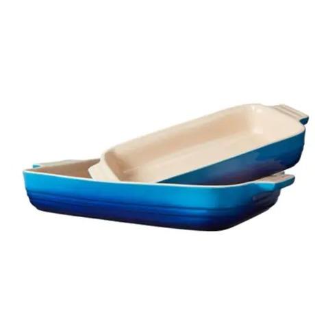 Le Creuset 彩色珐琅陶瓷烤盘 2件套 129.99加元,原价 225加元,包邮