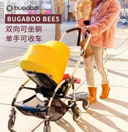 火遍Ins、明星爸妈都爱用Bugaboo 荷兰博格步 Bee5 可折叠双向坐躺一体式婴儿推车 8折 704.8加元起特卖