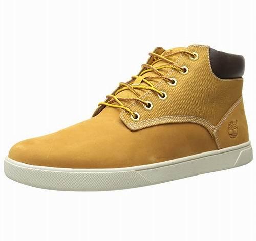 Timberland Groveton男士高帮休闲鞋 5.7折 62.18加元(8-8.5码),原价 110加元,包邮