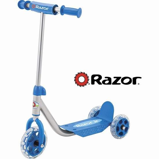 Razor Jr. Lil Kick 儿童三轮滑板车 43.5加元包邮!