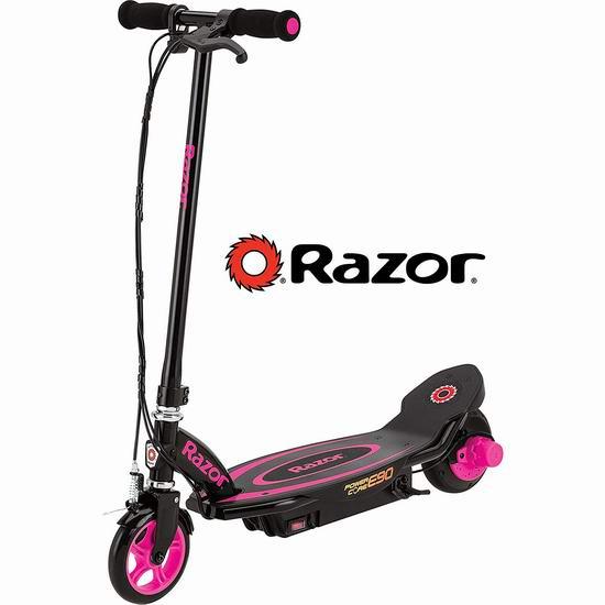 Razor Power Core E90 电动滑板车7折 175.72加元包邮!