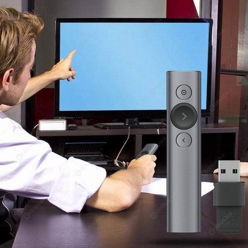 PPT演示神器!Logitech 聚光灯高级演示遥控器 6.7折 100.99加元(2色),原价 149.99加元,包邮