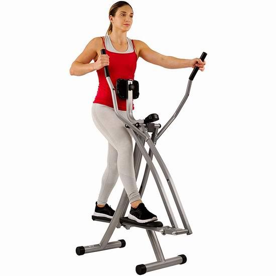 近史低价!Sunny Health & Fitness SF-E902 家用健身 空中步行 椭圆机5.4折 103加元包邮!