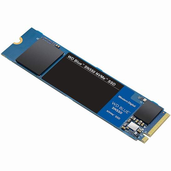 WD Blue SN550 1TB NVMe SSD 固态硬盘 129.99加元包邮!