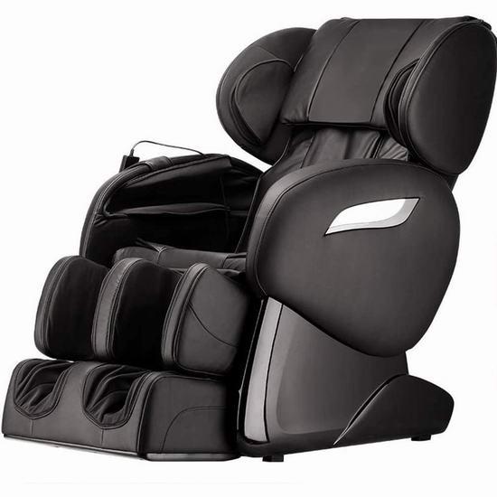 BestMassage SL导轨 零重力按摩椅 899.99加元包邮!