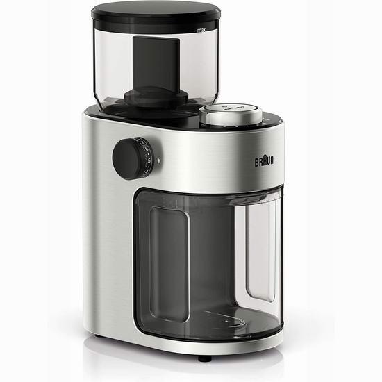 Braun 德国博朗 KG7070 Burr 专业15段 咖啡豆研磨机 69.99加元包邮!