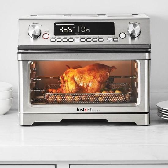 历史新低!新品 Instant Pot Omni Plus 26升 11合一 多功能烤箱 211.68加元包邮!比美国史低价还便宜70.57加元!