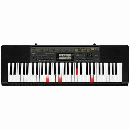 Casio 卡西欧 LK-265 61键 智能光键 电子琴 205.88加元包邮!教学功能强大!