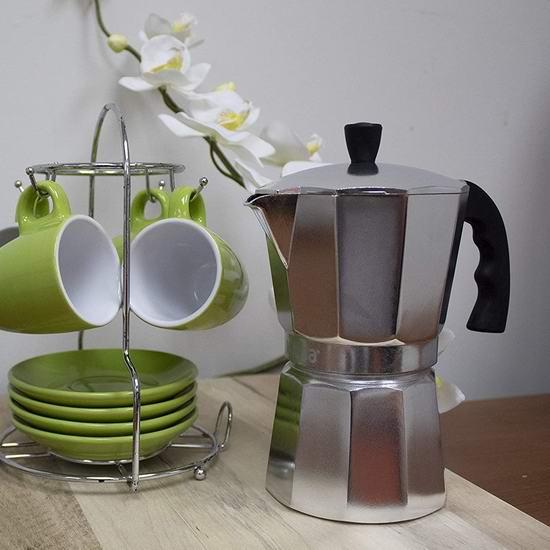 白菜价!Imusa B120-41V 1杯量 摩卡咖啡壶1.9折 10.8加元!